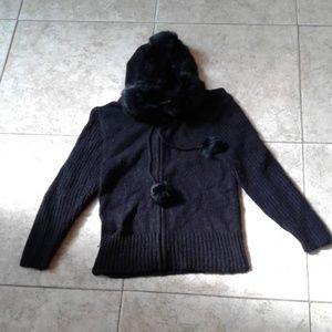 Ultra Rare bebe Zip Jacket Fitted Medium